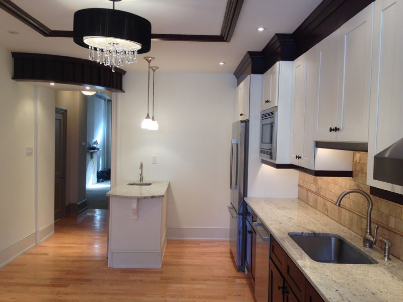 Renovated kitchen on Christian Street, Philadelphia